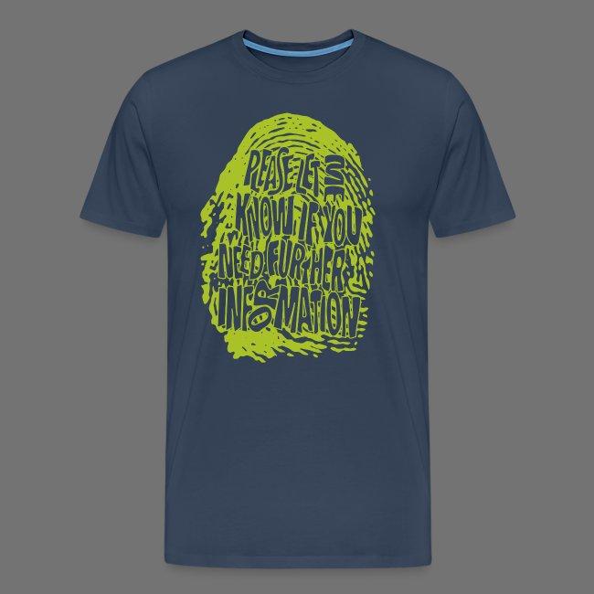 Fingerprint DNA (green)
