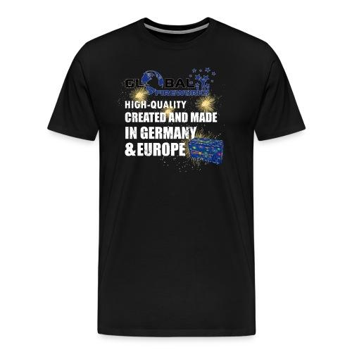 Golbal Fireworks - Männer Premium T-Shirt