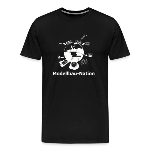 MBN Weiß - Männer Premium T-Shirt