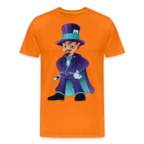 wizard colour png - Herre premium T-shirt