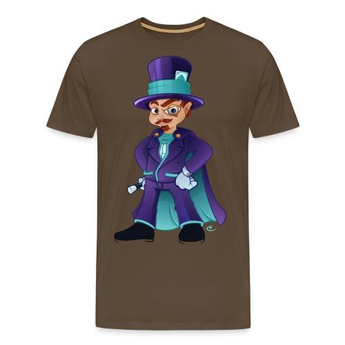 wizard colour png - Herre premium T-shirt
