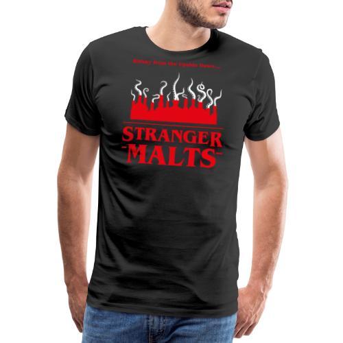 """Malt meets Movie""-Series Part 2: STRANGER MALTS - Männer Premium T-Shirt"
