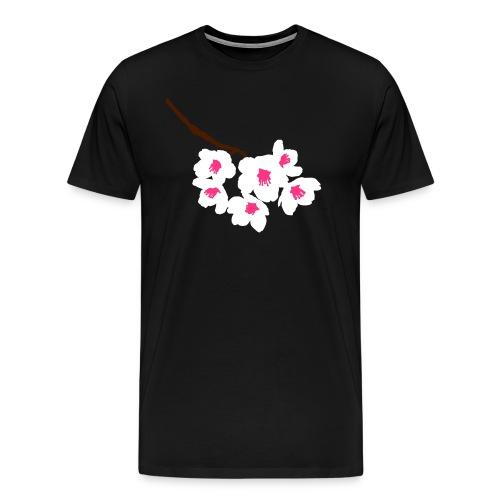Fleurs de cerisier japonais - T-shirt Premium Homme