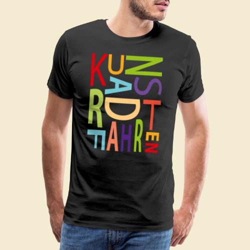 Kunstrad | Kunstradfahren color - Männer Premium T-Shirt