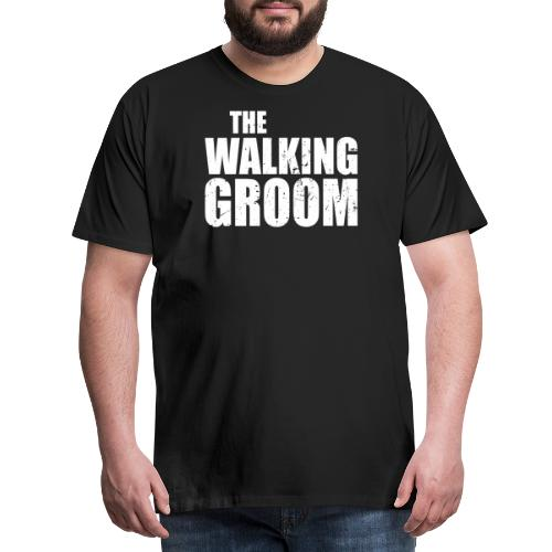 The walking groom Bräutigam Junggesellenabschied - Männer Premium T-Shirt