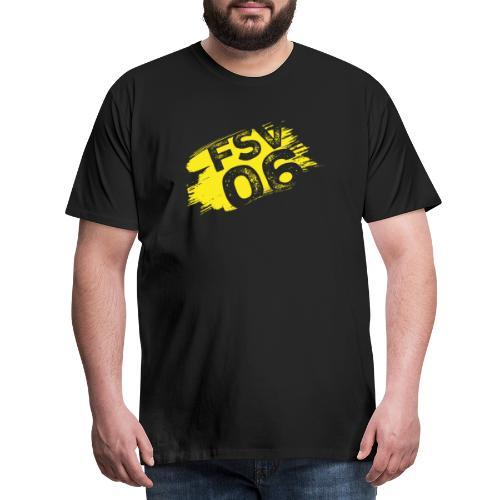 Hildburghausen FSV 06 Graffiti gelb - Männer Premium T-Shirt