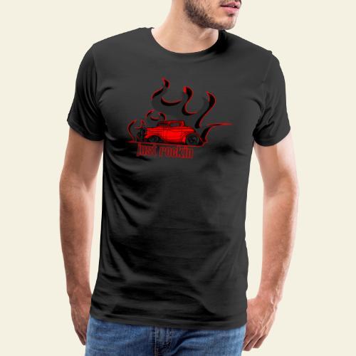 2window just rockin - Herre premium T-shirt