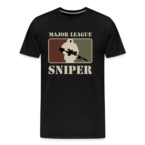 Major League Sniper - Men's Premium T-Shirt