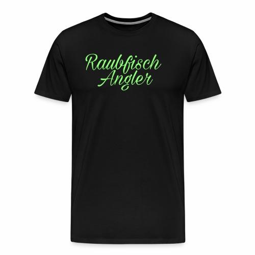 Raubfischangler - Männer Premium T-Shirt