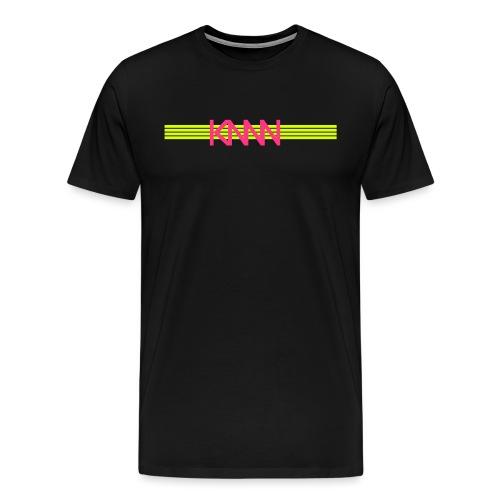 KNNN stripe-logo - Premium-T-shirt herr