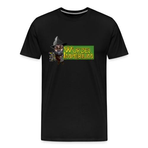 Wurzelimperium Dunkelzwerg - Männer Premium T-Shirt