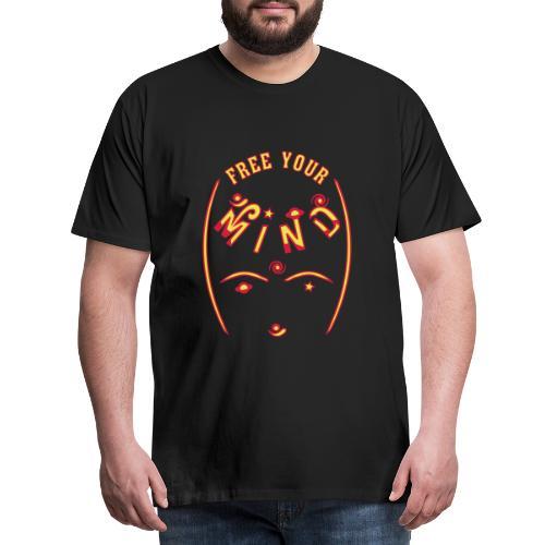 Befri dit sind - Herre premium T-shirt