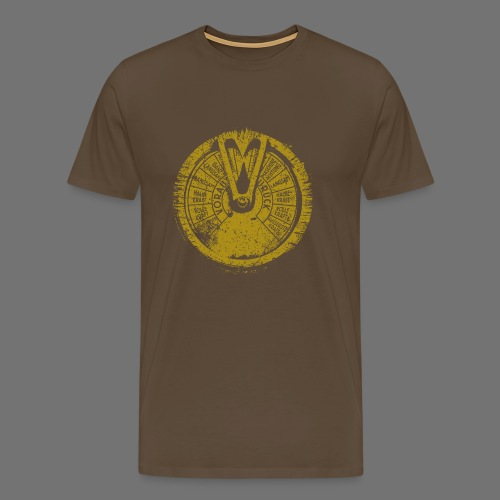 Maschinentelegraph (messinki oldstyle) - Miesten premium t-paita