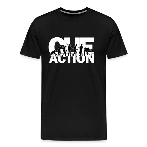 CueAction Evolution - Männer Premium T-Shirt