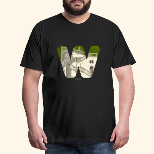 Wuppertal T-Shirt Vogelsauer Treppe - Männer Premium T-Shirt