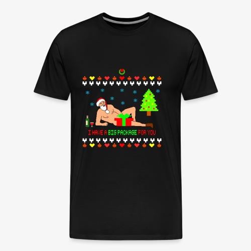 Sexy Romantic Santa Ugly Xmas - Männer Premium T-Shirt