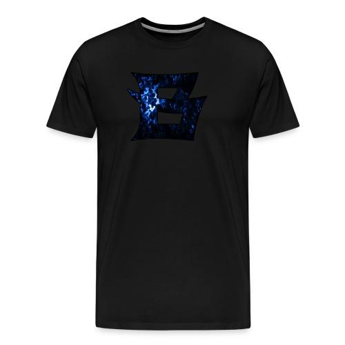 BLAU png - Männer Premium T-Shirt