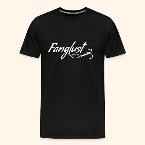 Fanglust Logo - Männer Premium T-Shirt