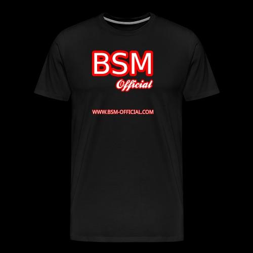 BSM Official Logo - Men's Premium T-Shirt