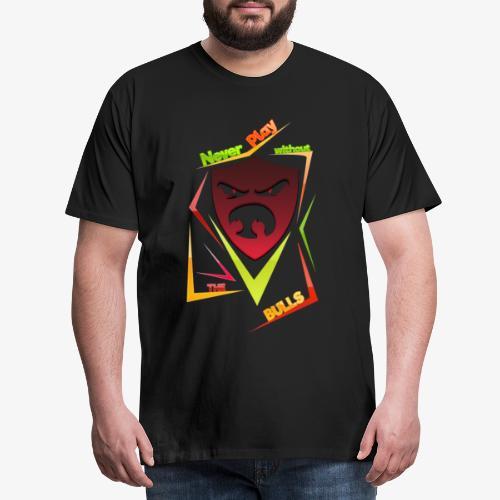 Bulls Shield - Männer Premium T-Shirt