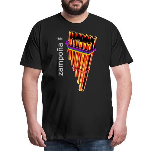 Zampoña clara - Camiseta premium hombre