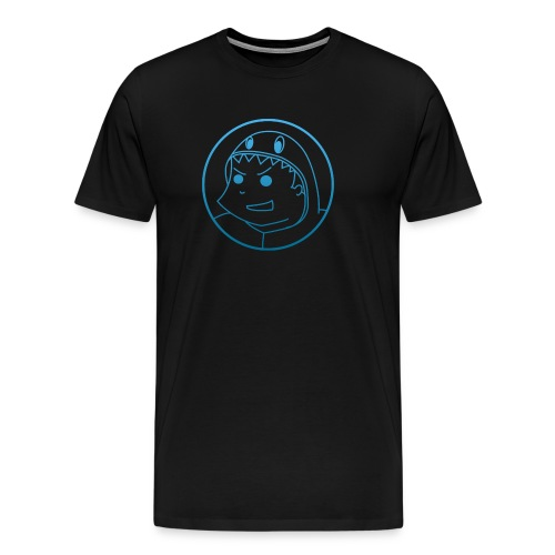 Big-logo-Blue2 - Men's Premium T-Shirt