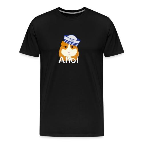 Ahoi Meerschweinchen - Männer Premium T-Shirt