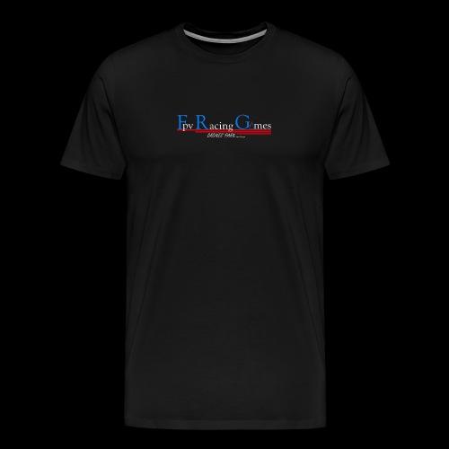FPV Racing Games nom et logo - T-shirt Premium Homme