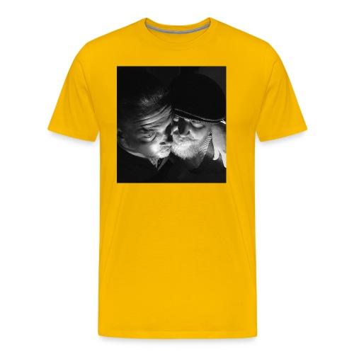 Salmitola - Miesten premium t-paita
