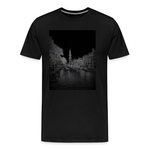 Amsterdam Westerkerk - Mannen Premium T-shirt