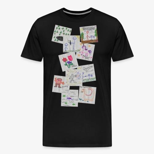 Drawings - Men's Premium T-Shirt