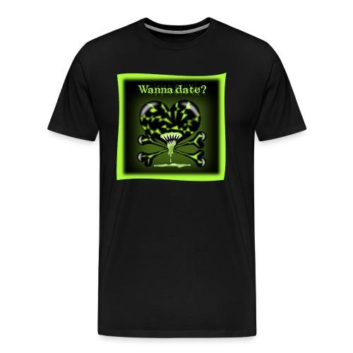 FreakyFriends: Wanna-date - Männer Premium T-Shirt
