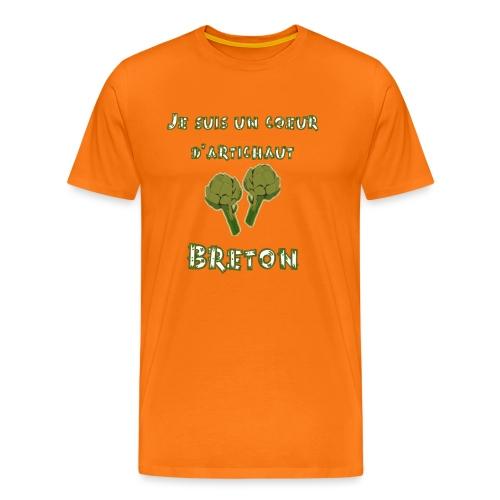 Coeur d artichaut breton - T-shirt Premium Homme
