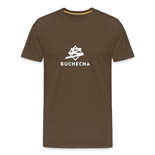 Logo White Basic - Camiseta premium hombre