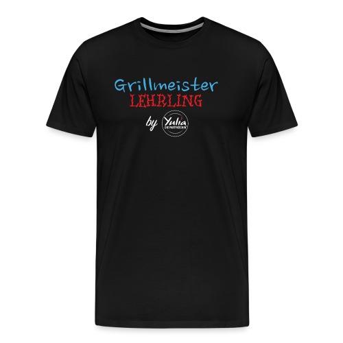 Grillmeister Lehrling - Männer Premium T-Shirt