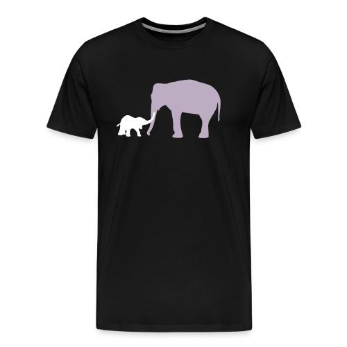 Elephanti - Mannen Premium T-shirt
