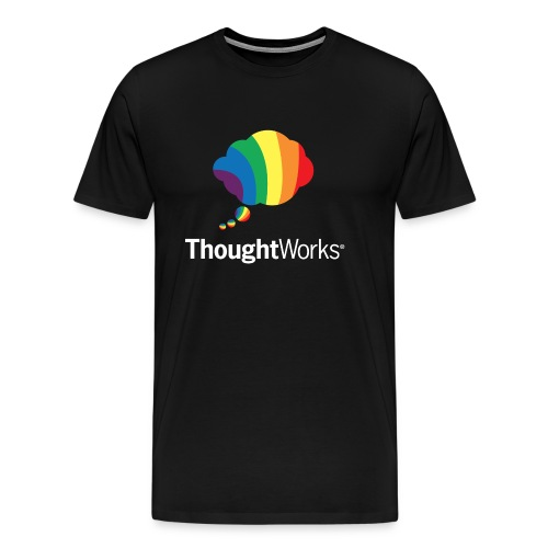 ThoughtWorks Cloud, white - Männer Premium T-Shirt