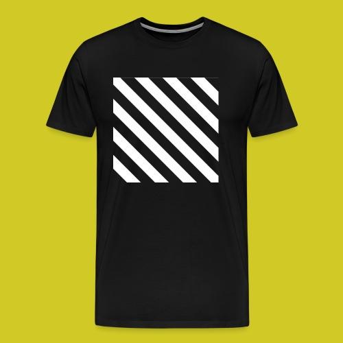 BLACK AND WHITE - Camiseta premium hombre
