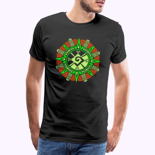 Hunab Ku Mayan Kuukivi - Miesten premium t-paita