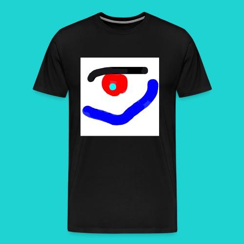 KUUUK Mundauge - Männer Premium T-Shirt