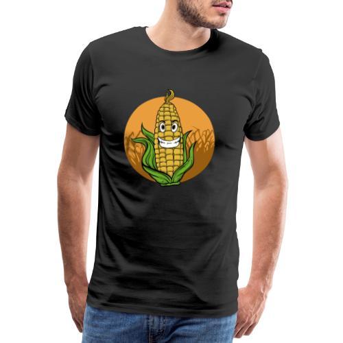 Mais Maisfeld Popcorn Bauer Landwirt Geschenk - Männer Premium T-Shirt
