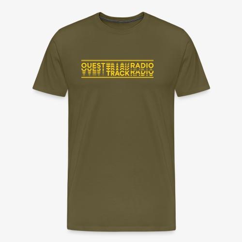 Logo Long jaune - T-shirt Premium Homme