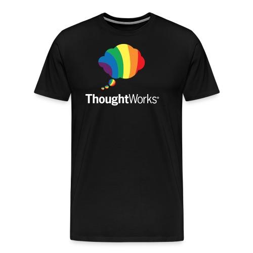 ThoughtWorks Cloud, white - Männer Premium T-Shirt