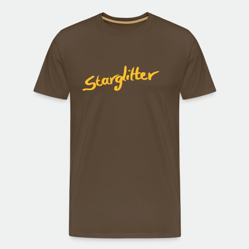 Starglitter - Lettering - Men's Premium T-Shirt