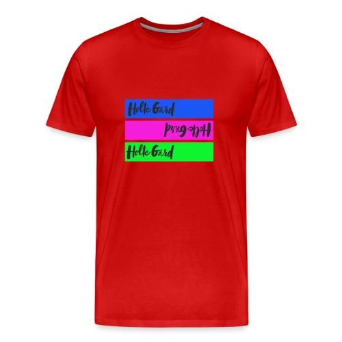 Ny logo farge - Premium T-skjorte for menn