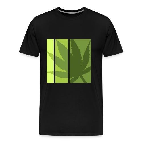 Weed All Stars - Herre premium T-shirt