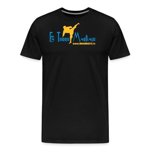 ETM bleu - T-shirt Premium Homme