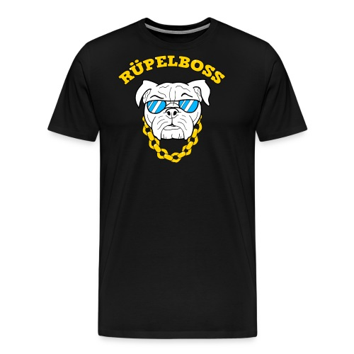 Hund Bulldogge OEB EB Rüpel Rowdy cool Geschenk - Männer Premium T-Shirt