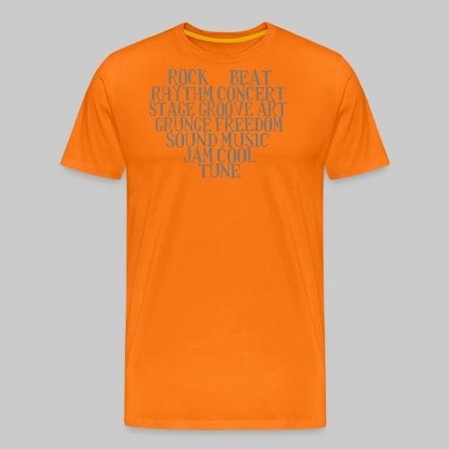 Wortmix I love music! - Männer Premium T-Shirt