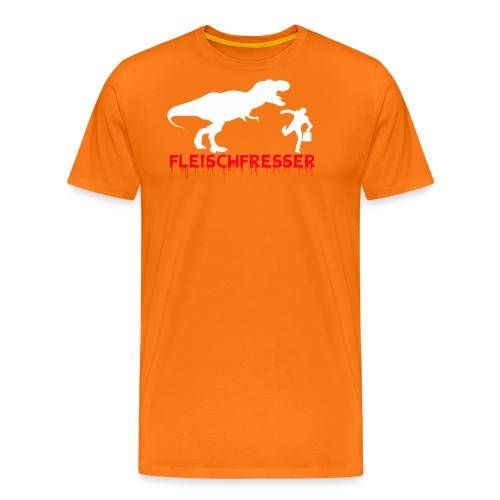 fleisch rot - Männer Premium T-Shirt
